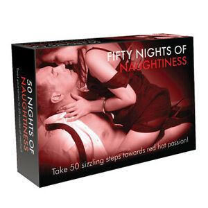Fifty Nights Of Naughtiness Naughty Funny Adult Party Couples Sex Board Games UK