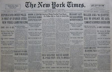 4-1931 APRIL 13 HARDING MULROONEY WALKER SPAIN POLLS, WARSHIPS NICARAGUA