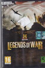 JEU PC LEGENDS OF WAR HISTORY GUERRES ARMES STRATEGIE WINDOWS XP/VISTA/7
