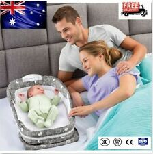 Baby Snuggle Nest Surround XL Infant Sleeper Travel Music Cot Crib Bed 77*42cm