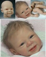 "DIY Reborn Baby Doll Kits Soft Vinyl Limbs Mold For Making 20-22"" Newborn Baby"