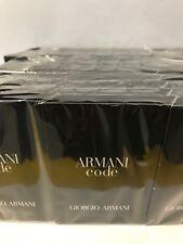 LOT OF 36 - Giorgio Armani Code Men 0.04 oz/1.2 Ml Eau De Toilette Spray Vials