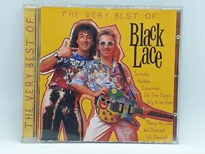 Black Lace - The Very Best Of     CD Album (Agadoo, Superman, Do The Conga) -HTF
