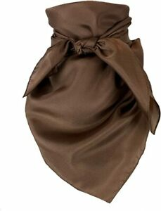 Austin Accent Solid 100% Wild Rag 34 Inch Scarf Multiple Colors