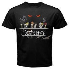 Death Note 2 anime manga ryuk yagami japan T-Shirt Black Basic Tee