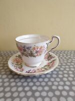 """Paragon """"Country Lane"""" Tea Cup And Saucer"""