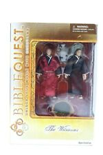 """BibleQuest """"The Witnesses"""" Action Figures NEW"""