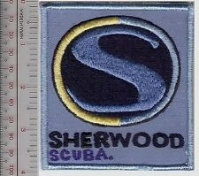 SCUBA Diving USA Sherwood Scuba Equipment Manufacturer Patch Irvine, California