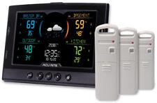 AcuRite Weather Station Temperature Humidity 3-Sensors Barometric Pressure Clock