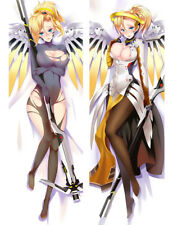 Overwatch OW Mercy Dakimakura Anime Body Pillow Cover Case 150x50 Hugging 59""