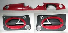 MINI Cooper One S RED Dash & Pair Matching Door Cards Harmon Kardon Facelift