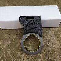 EDC Pocket Tool Emergency Cutting Seat Belt Rope ThreadHook Knife Keyring New~