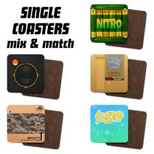 Jeu vidéo, personnage, Console Inspiré thé/café Unique Imprimé connotés Coasters