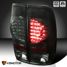 97-03 Ford F150 99-07 F250/F350/F450 Smoke Rear Brake LED Tail Lights Left+Right