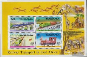 Tanzania block3 (complete.issue.) unmounted mint / never hinged 1976 rail