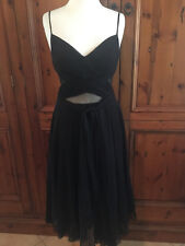 Stunning black special occasion dress from George label (Australia): sz 8