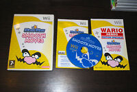 Jeu WARIO WARE SMOOTH MOVES pour Nintendo Wii PAL COMPLET (CD OK)