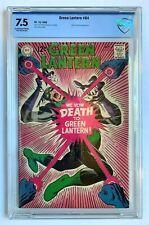 GREEN LANTERN #64, DC Comics, CBCS 7.5 not CGC