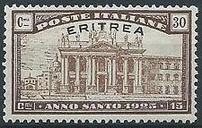 1925 ERITREA ANNO SANTO 30 CENT MNH ** - G098