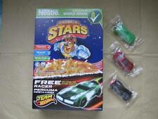 Nestle Phils Cereal Set of 3 HOT WHEELS Pull Back GLOW IN THE DARK Racers