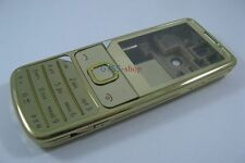 Gold Fascia Housing Cover Case for Nokia 6700 Classic 6700C+Keypad Faceplate NEW