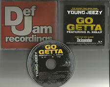 YOUNG JEEZY w/ R. KELLY Go Getta w/ RARE CLEAN version PROMO DJ CD single 2006
