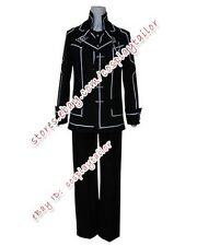 Vampire Knight Boy School Day Suit Black Party Uniform Halloween Cosplay Costume
