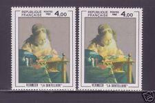 "FRANCE STAMP TIMBRE N° 2231 "" LA DENTELLIERE VERMEER , VARIETE COULEUR "" NEUF xx"