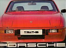 Porsche 924 1976 UK Market Sales Brochure