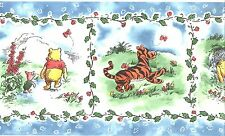 Disney Classic Winnie The Pooh & Friends Wallpaper Border Kid Nursery Wall Decor