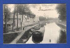 Ah*  CPA ->Gournay -> La Plâtrière sur le Canal de Vaires   Seine-et-Marne -> 77