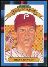1988 Donruss Diamond Kings #13 Shane Rawley Philadelphia Phillies