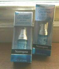 LOT OF TWO-Neutrogena Hydro Boost City Shield Hydrating Eye Serum - .47 fl oz ea