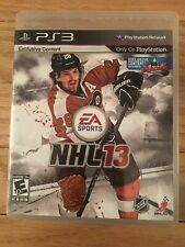 NHL 13 - PS3 - MISSING MANUAL - FREE S/H - (WW)