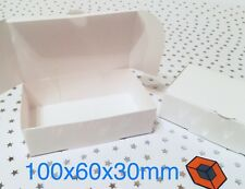 50 White Single Slice Wedding Party Cake Favour Boxes BARGAIN ~ for £3.32