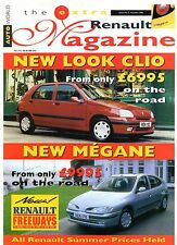 Renault Magazine News Extra No 7 Autumn 1996 UK Market Brochure Clio Megane