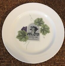 Wedgwood Vintage Collection Grand Gourmet SILVER OAK CAB SAV Salad PLATE 9 7/8""