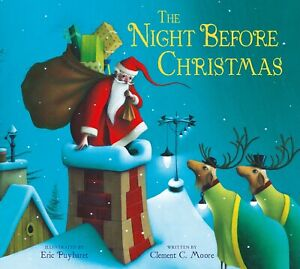 The Night Before Christmas By Clement C. Moore NEW (Paperback) Children's Book