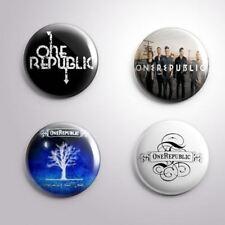 4 ONE REPUBLIC - Pinbacks Badge Button Pin 25mm 1''