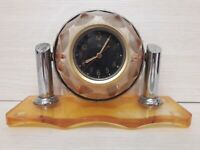 Soviet Russian USSR Military Tank T-34 Cockpit Desktop Clock , aircraft  №2