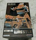 Wrestle - MakeToys - Transformers Masterpiece MTRM-05 - NEW - FLAWLESS