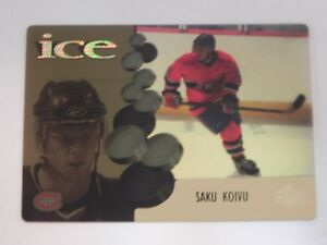 1998-99 98/99 Upper Deck McDonalds Ice McD 4 Saku Koivu Montreal Canadiens