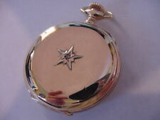 BEAUTIFUL 1899 MINTY WALTHAM DIAMOND HUNTING CASE ANTIQUE POCKET WATCH!