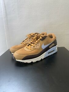 NIKE AIR MAX 90 ESSENTIAL MUTED BRONZE AJ1285 202 SIZE 12 PRE OWNED