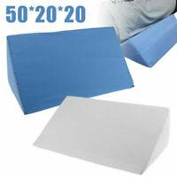 Acid Reflux Foam Bed Wedge Pillow Leg Elevation Back Lumbar Support Cushions YO
