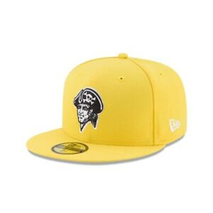 Pittsburgh Pirates New Era 2017 LLWS On-Field 59FIFTY Fitted Hat - Yellow/Black