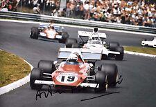 Arturo Merzario firmato 12x8, FERRARI 312B2 German Gp Nurburgring 1972