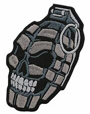 Grenada Skull  BIKER MC PATCH
