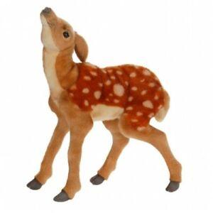 New Hansa Toys Realistic Stuffed Newborn Bambi Baby Fawn Deer # 4936