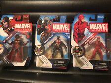 Marvel Universe 3.75 lot of 3: Daredevil Gladiator Union Jack all new in box